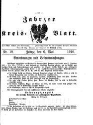 Zabrzer Kreis-Blatt