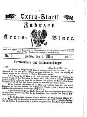 Zabrzer Kreis-Blatt vom 03.03.1913