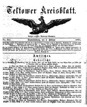 Teltower Kreisblatt on Feb 9, 1861