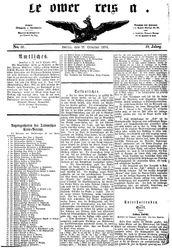 Teltower Kreisblatt (21.10.1874)