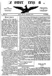 Teltower Kreisblatt (16.12.1874)