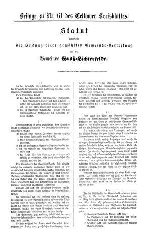 Teltower Kreisblatt vom 31.07.1878