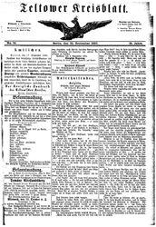 Teltower Kreisblatt (22.09.1880)