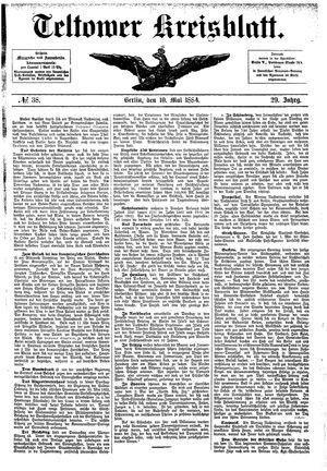 Teltower Kreisblatt vom 10.05.1884