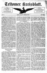 Teltower Kreisblatt (19.02.1885)