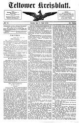 Teltower Kreisblatt (08.07.1886)