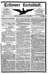Teltower Kreisblatt (23.06.1888)