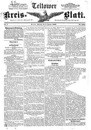 Teltower Kreisblatt vom 03.01.1890