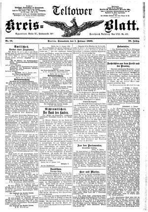 Teltower Kreisblatt vom 01.02.1890