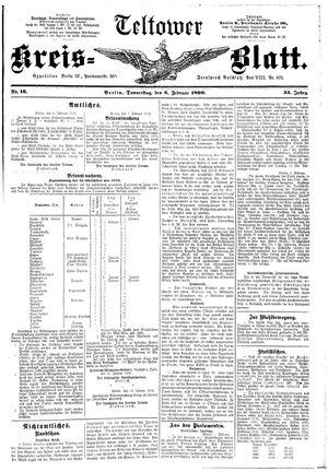 Teltower Kreisblatt vom 06.02.1890