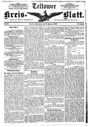 Teltower Kreisblatt (22.02.1890)