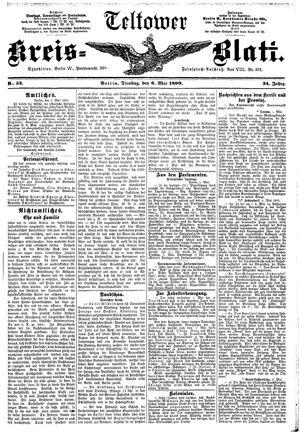 Teltower Kreisblatt vom 06.05.1890