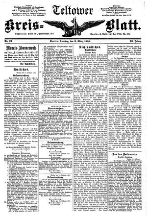 Teltower Kreisblatt vom 03.03.1891