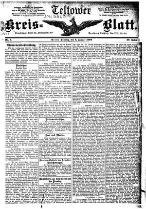 Teltower Kreisblatt vom 03.01.1892