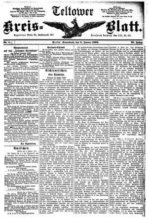 Teltower Kreisblatt vom 09.01.1892