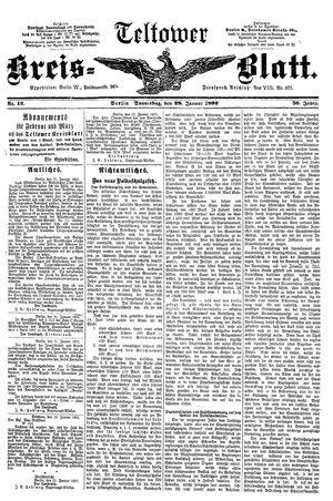 Teltower Kreisblatt vom 28.01.1892