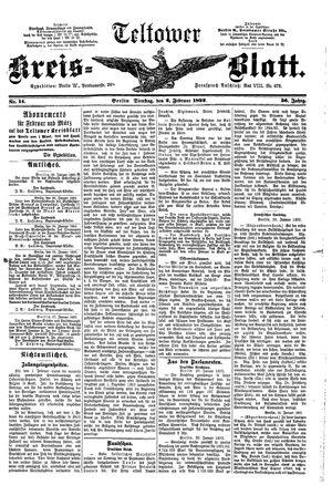 Teltower Kreisblatt vom 02.02.1892