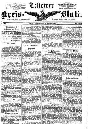 Teltower Kreisblatt vom 06.02.1892