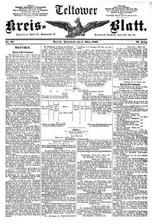 Teltower Kreisblatt vom 05.03.1892