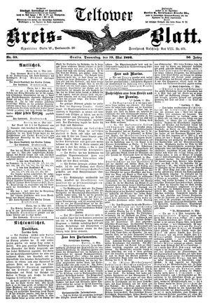 Teltower Kreisblatt vom 19.05.1892
