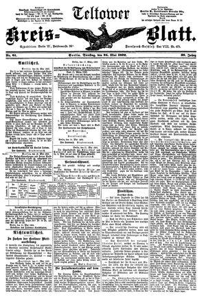 Teltower Kreisblatt vom 24.05.1892
