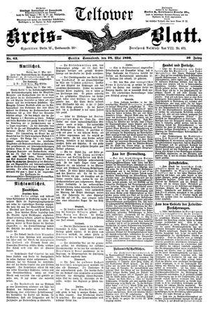 Teltower Kreisblatt vom 28.05.1892