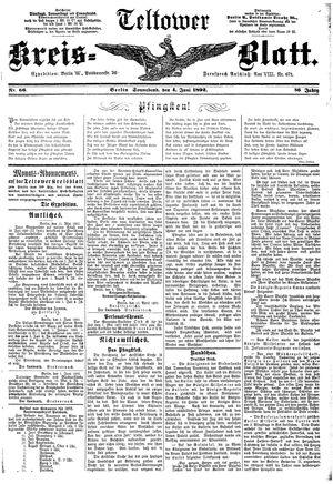 Teltower Kreisblatt vom 04.06.1892