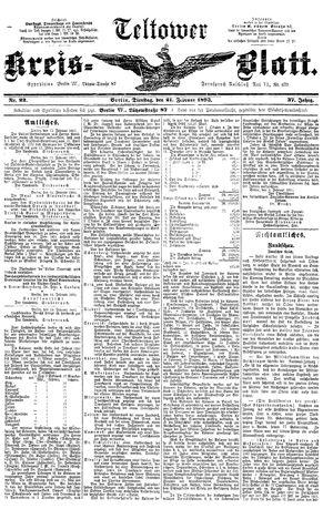 Teltower Kreisblatt vom 21.02.1893