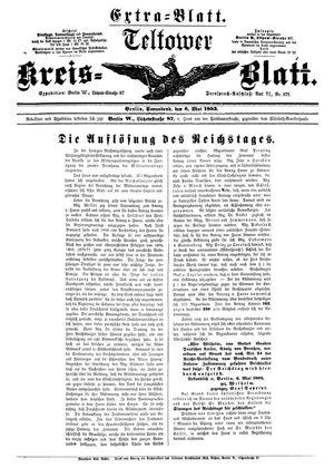 Teltower Kreisblatt vom 06.05.1893