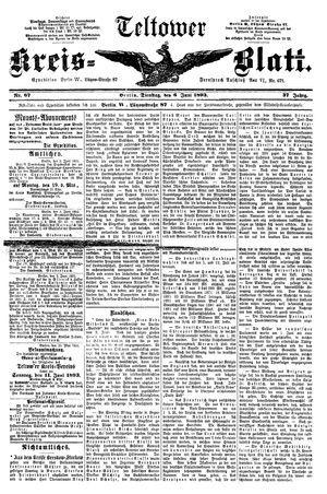 Teltower Kreisblatt vom 06.06.1893