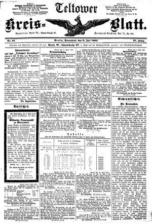 Teltower Kreisblatt on Jul 8, 1893