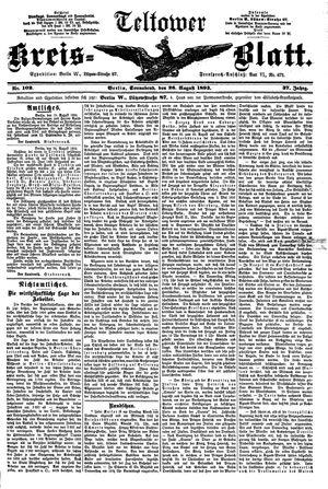Teltower Kreisblatt vom 26.08.1893