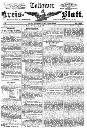 Teltower Kreisblatt vom 13.01.1894