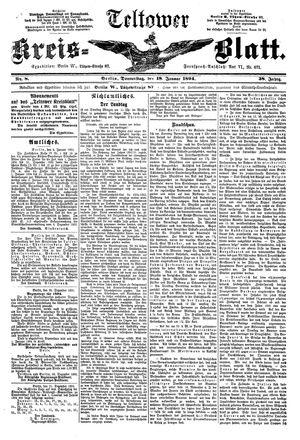 Teltower Kreisblatt vom 18.01.1894