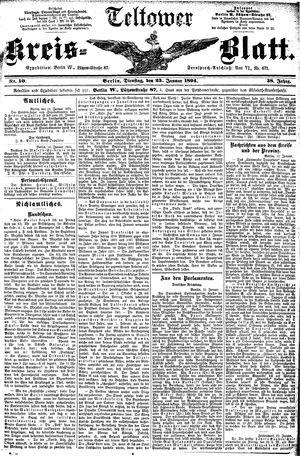 Teltower Kreisblatt vom 23.01.1894