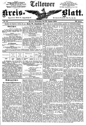 Teltower Kreisblatt vom 25.01.1894