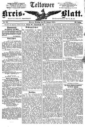 Teltower Kreisblatt vom 30.01.1894