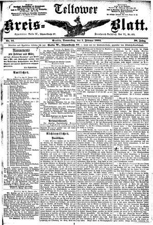 Teltower Kreisblatt vom 01.02.1894