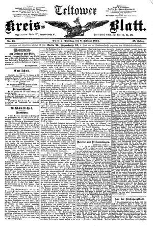 Teltower Kreisblatt vom 06.02.1894