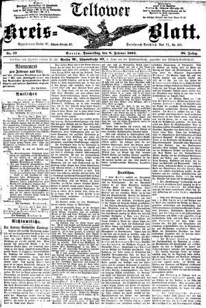 Teltower Kreisblatt vom 08.02.1894