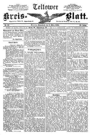 Teltower Kreisblatt vom 03.03.1894