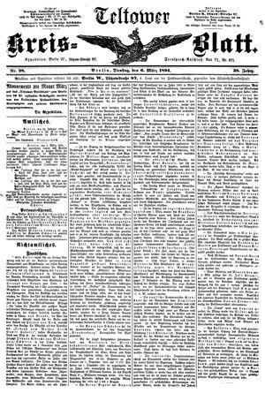 Teltower Kreisblatt vom 06.03.1894