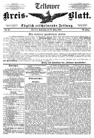 Teltower Kreisblatt on Mar 15, 1894
