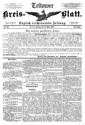 Teltower Kreisblatt vom 16.03.1894
