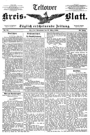 Teltower Kreisblatt vom 17.03.1894