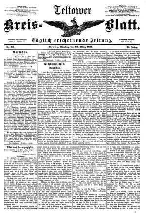 Teltower Kreisblatt vom 20.03.1894