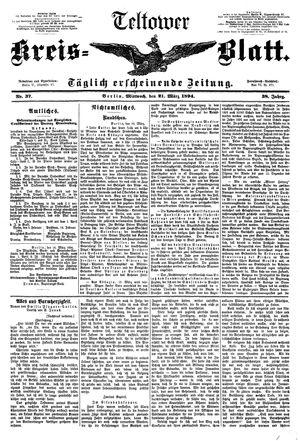 Teltower Kreisblatt vom 21.03.1894