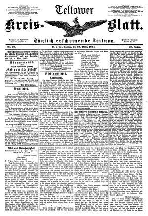 Teltower Kreisblatt vom 23.03.1894