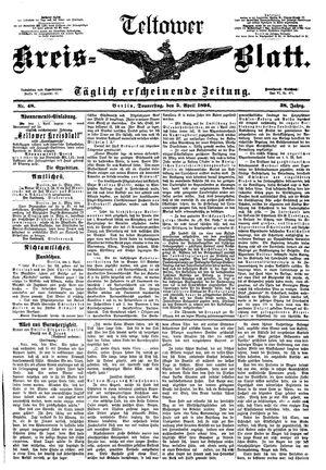 Teltower Kreisblatt vom 05.04.1894
