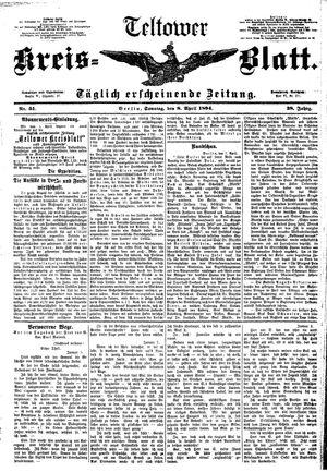 Teltower Kreisblatt vom 08.04.1894